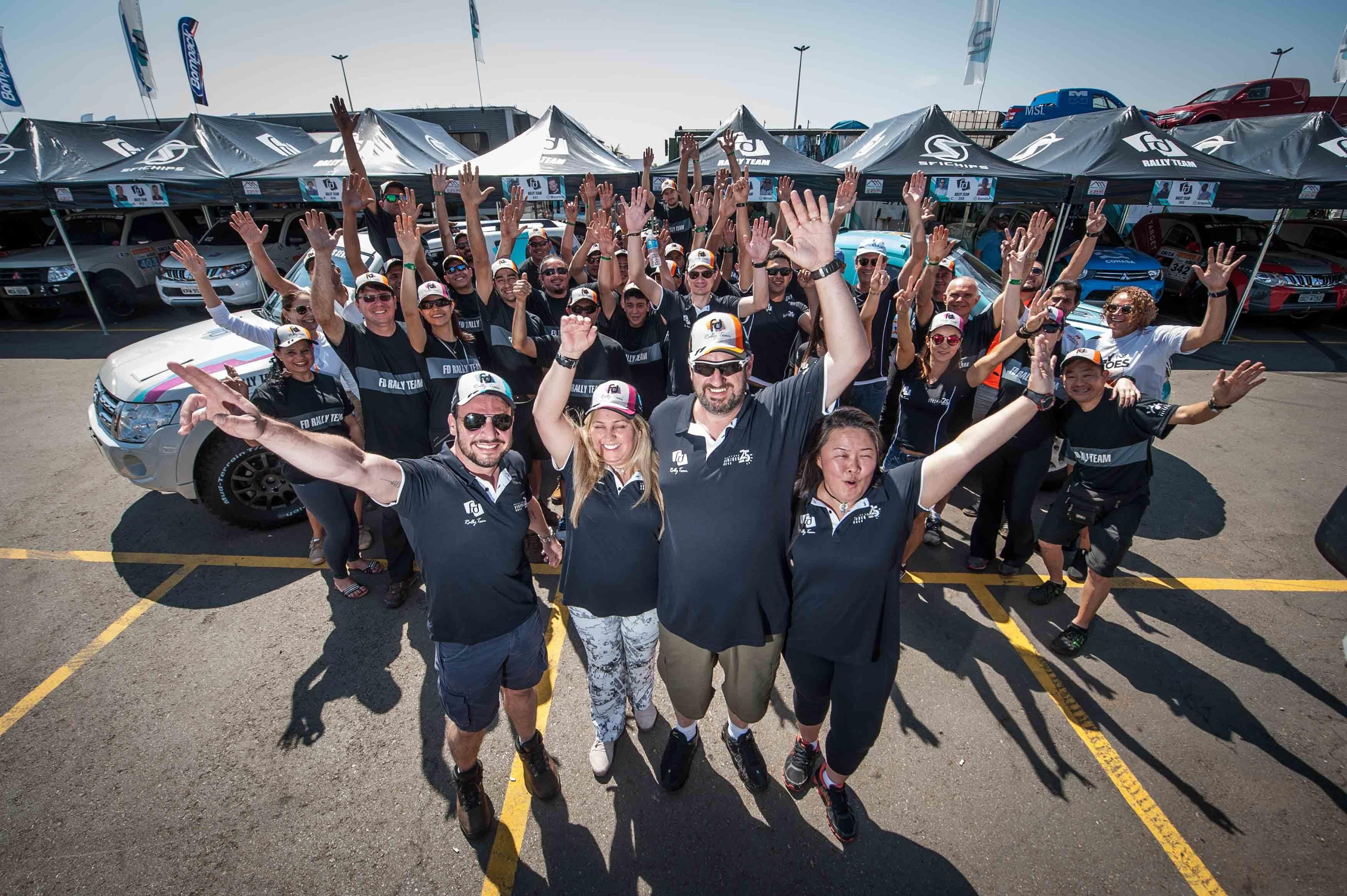 Rally dos Sertões: Pelo 2º ano consecutivo, FD Rally Team será a maior equipe do grid com 11 carros