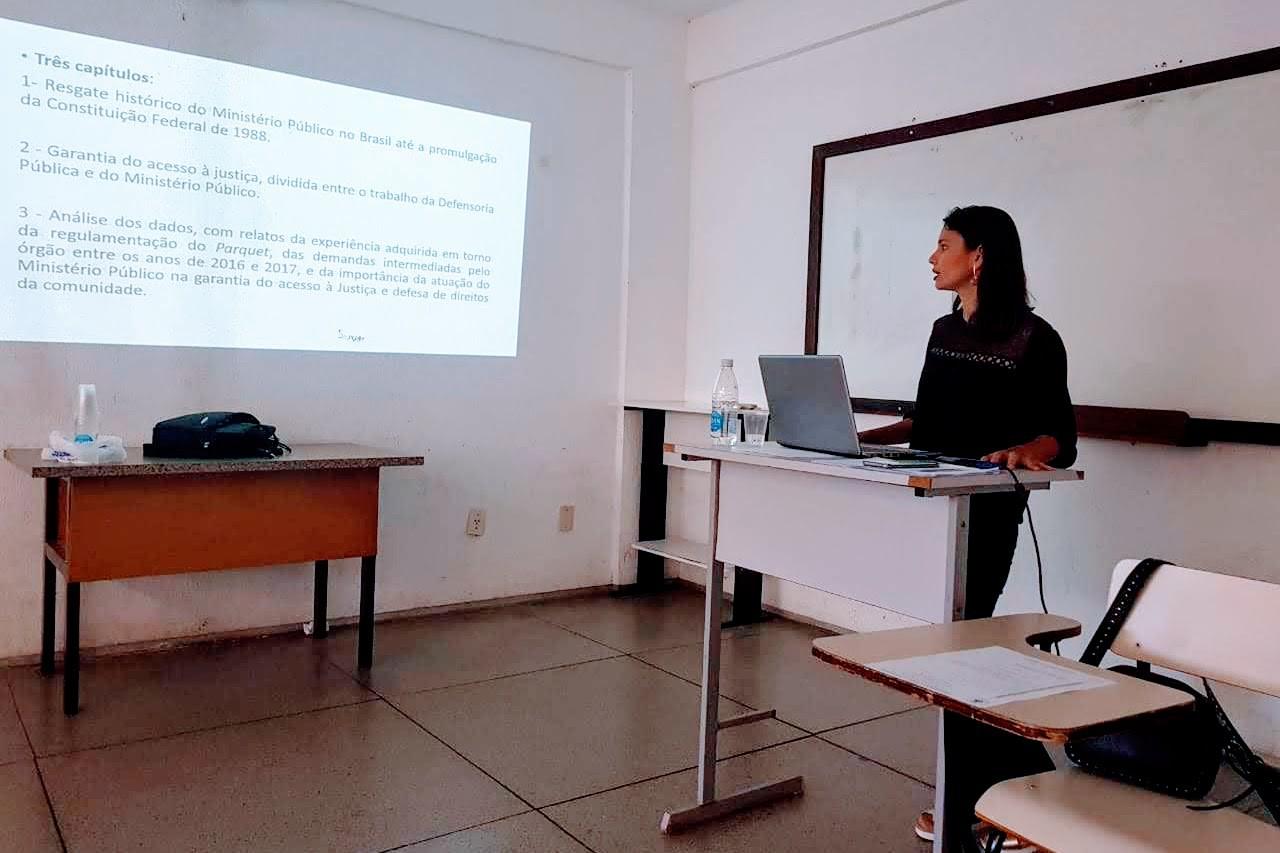 Atuação do MPE é tema de monografia de estudante da Universidade Federal do Maranhão