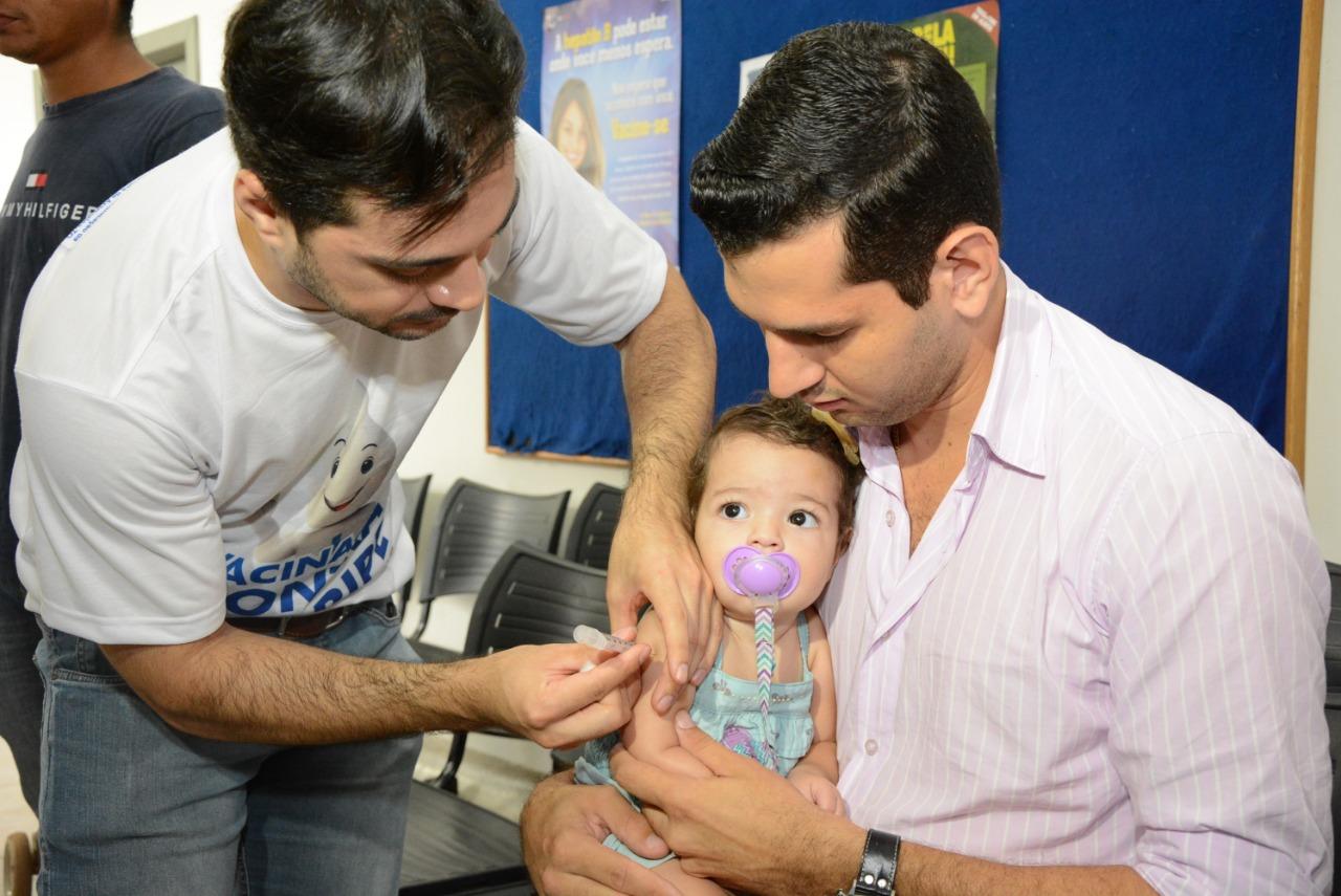 Estoque de vacinas reforçado para o Dia D contra o Sarampo e a Poliomielite