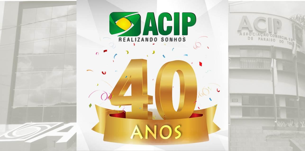 ACIP comemora 40 anos em Paraíso (TO)