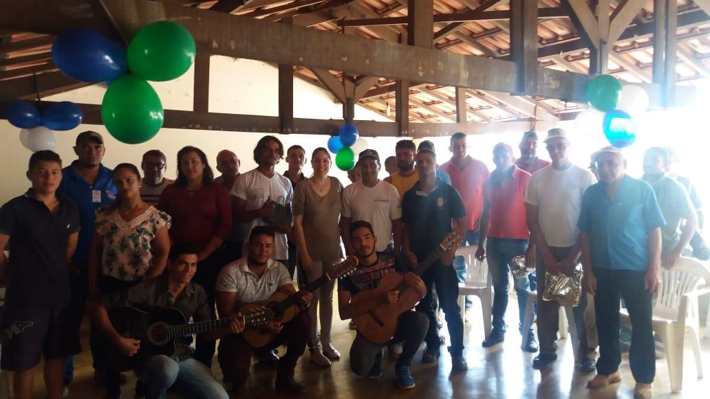 CRAS de Chapada de Areia realiza homenagem ao Dia dos Pais