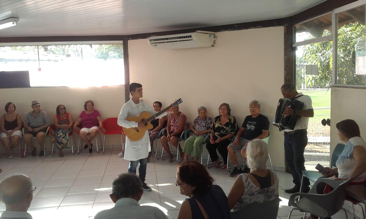 Parque do Idoso lotado marca o retorno das atividades neste mês de agosto, em Palmas