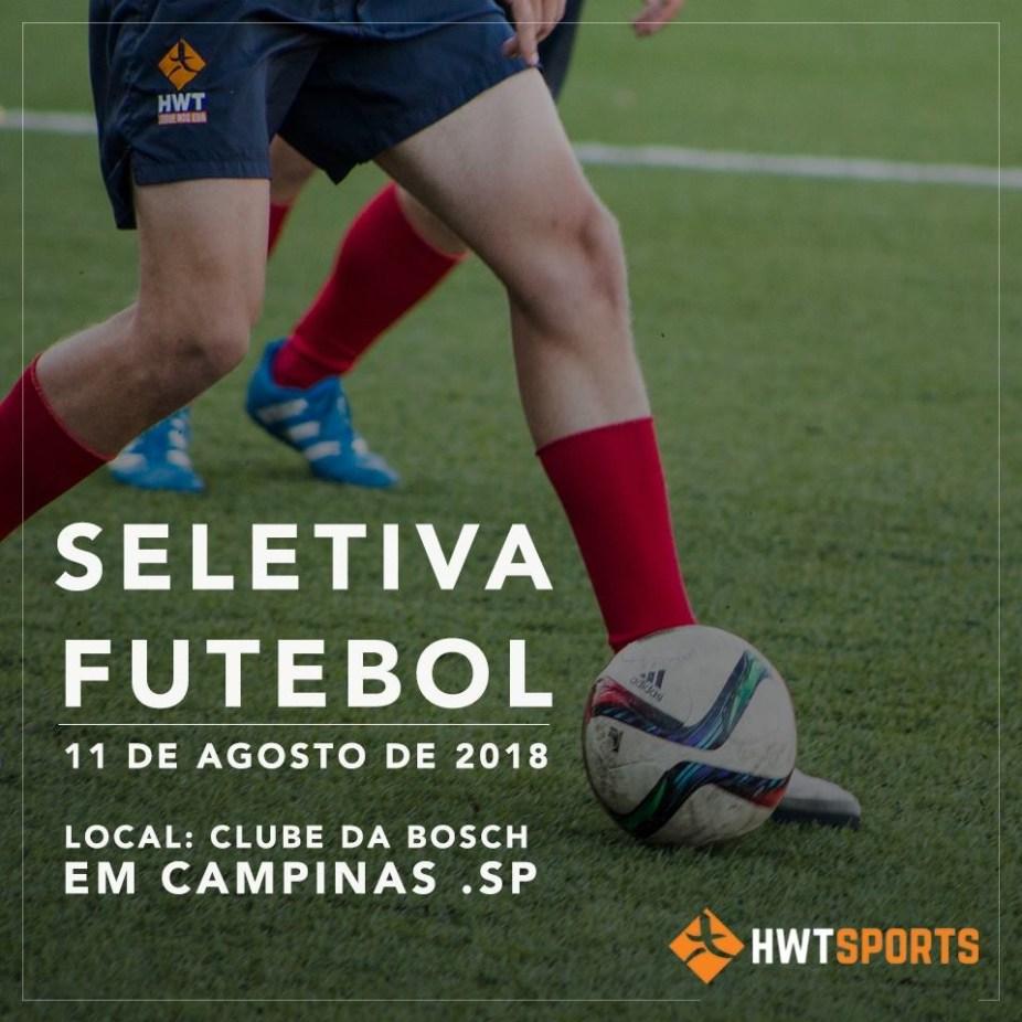 HWT Sports Academy realiza seletivas para jogadores de futebol no ... d526a1bcae55f