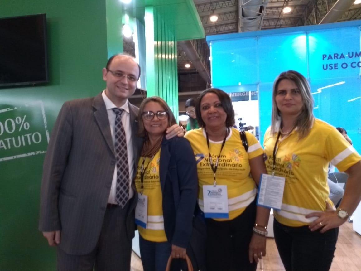 Secretária de Educação e Cultura representa o município de Lagoa da Confusão em Fórum da Undime