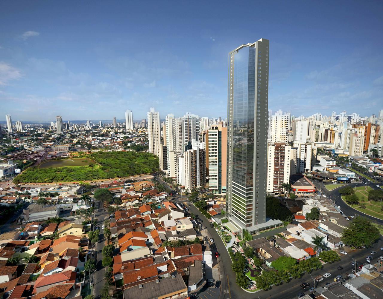 Sete itens de destaque no residencial mais alto do centro-norte
