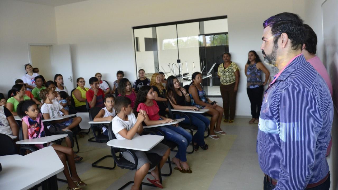 Novo local de difusão cultural e formação em artes de Palmas, o Espaço +Cultura, iniciou suas aulas nestas terça-feira, 14