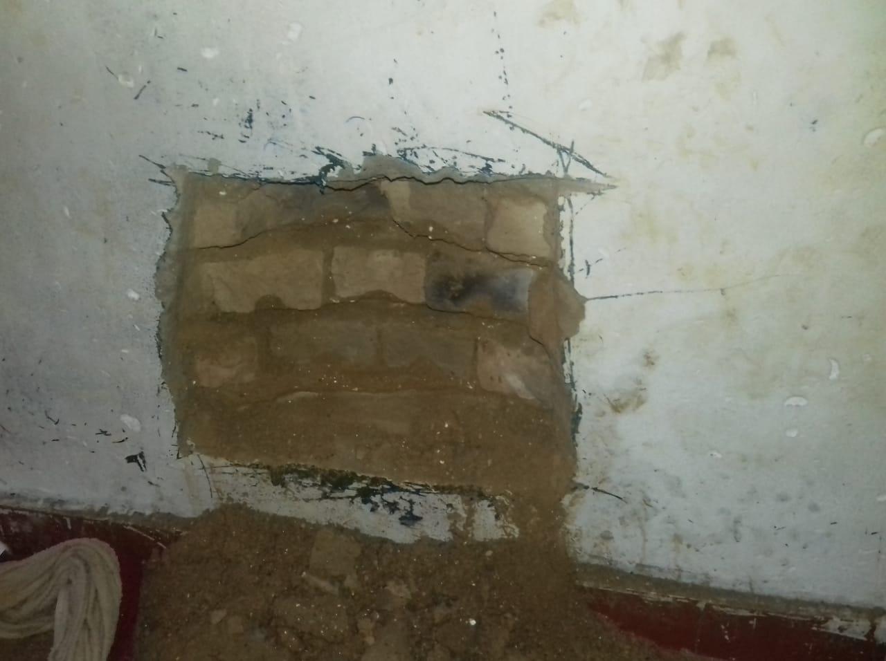 Agentes encontram escavação e frustram tentativa de fuga na cadeia de Cristalândia