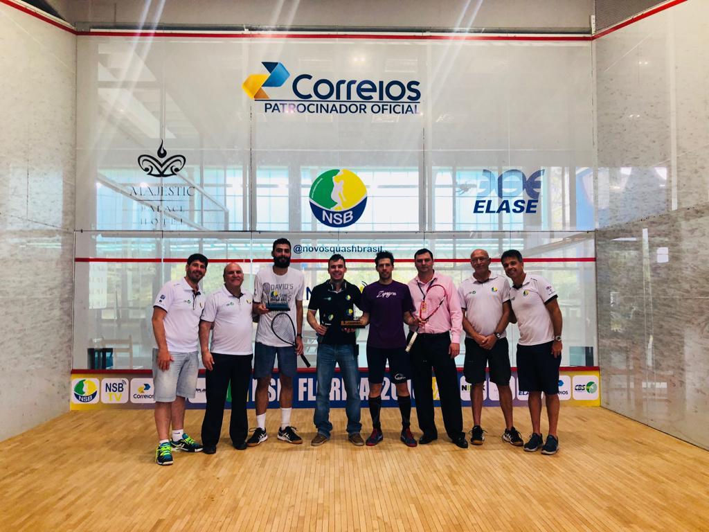 Argentino Robertino Pezzota é campeão da sétima etapa do Circuito de Squash – NSB em Florianópolis