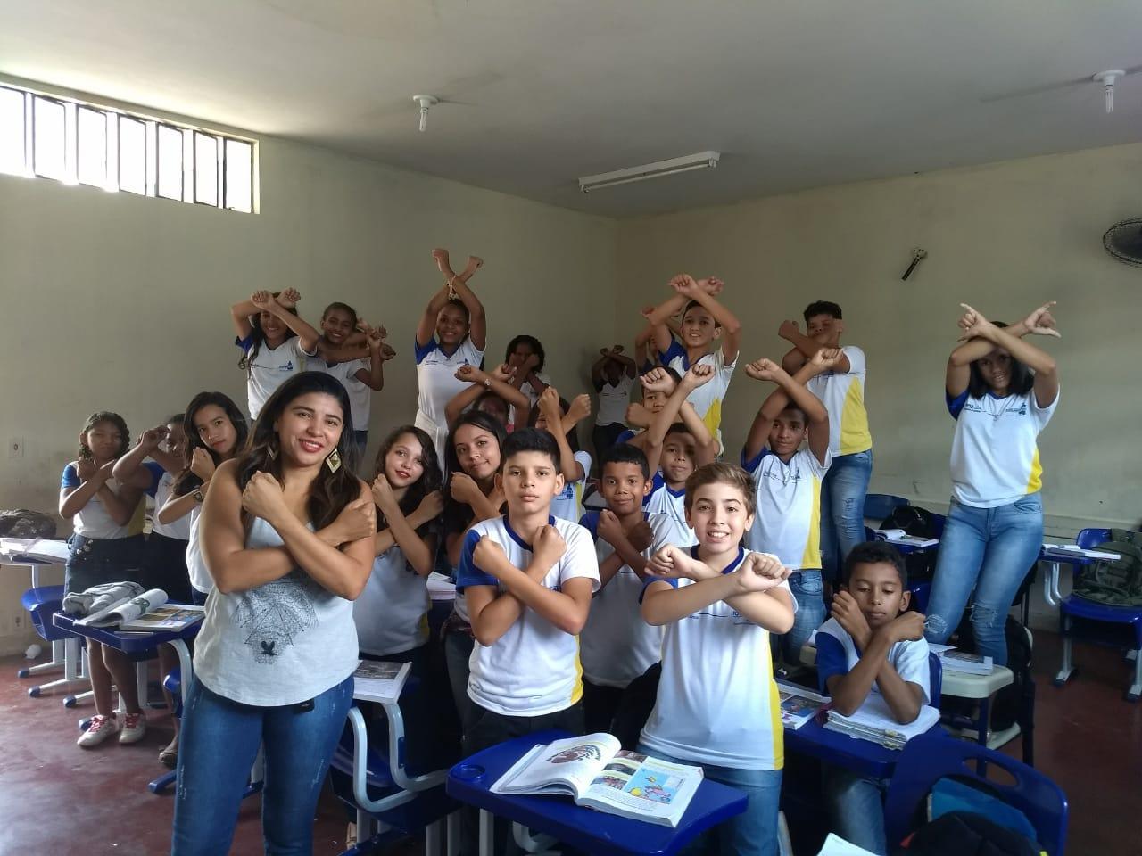 Estudantes do Osvaldo Franco mobilizam comunidade para mutirão de limpeza do córrego Brejinho