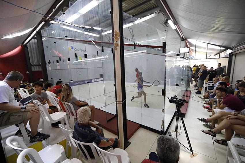 Oito jogos abrem nesta sexta-feira a chave principal do Circuito de Squash – NSB em Florianópolis