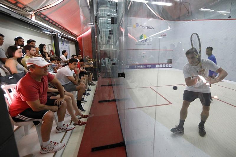 Etapa de Florianópolis do Circuito de Squash Profissional – NSB começa nesta quinta-feira