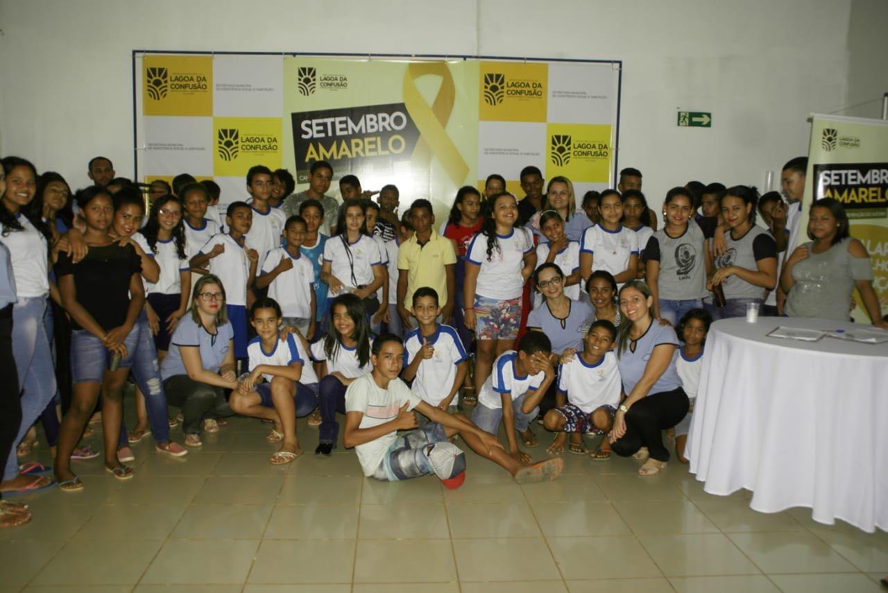 Prefeitura de Lagoa da Confusão realiza ações de conscientização contra o suicídio