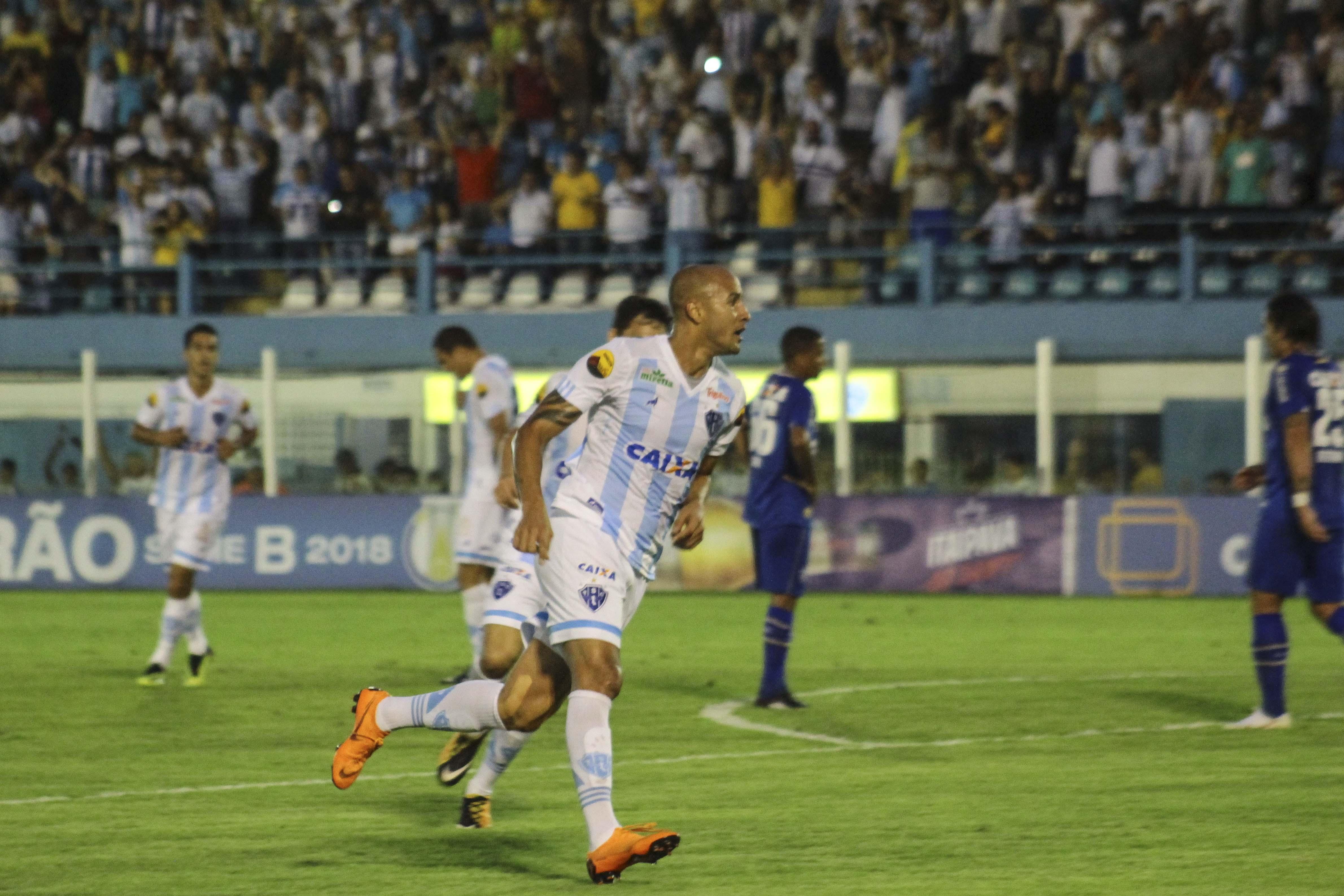Com histórico de gol contra o Boa Esporte, Hugo Almeida quer manter boa fase no Paysandu