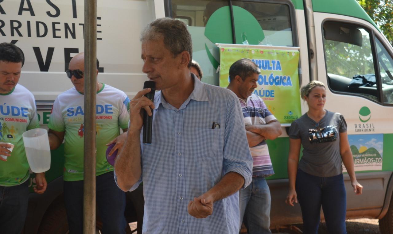Comunidade do Assentamento Salomira, em Dois Irmãos (TO), recebe ações da Prefeitura Municipal