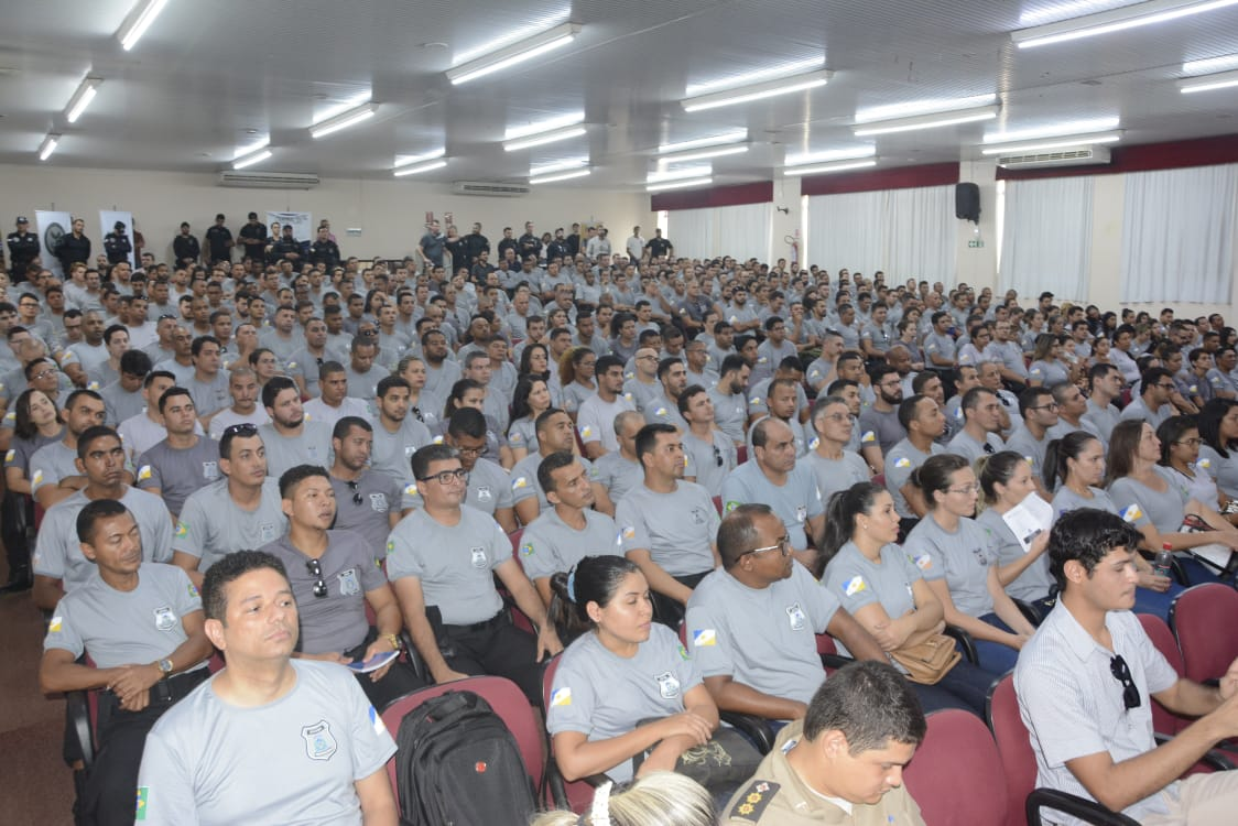 Secretário da Segurança Pública prestigia aula inaugural do sistema prisional em Palmas