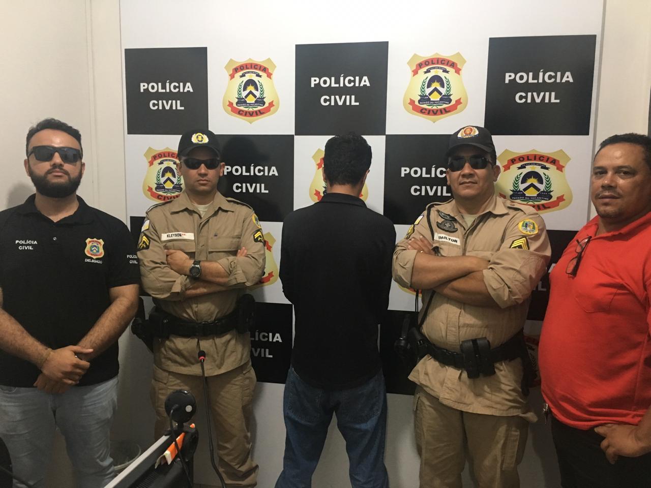 Suspeito de tentativa de homicídio é preso pela Polícia Civil no interior do Estado