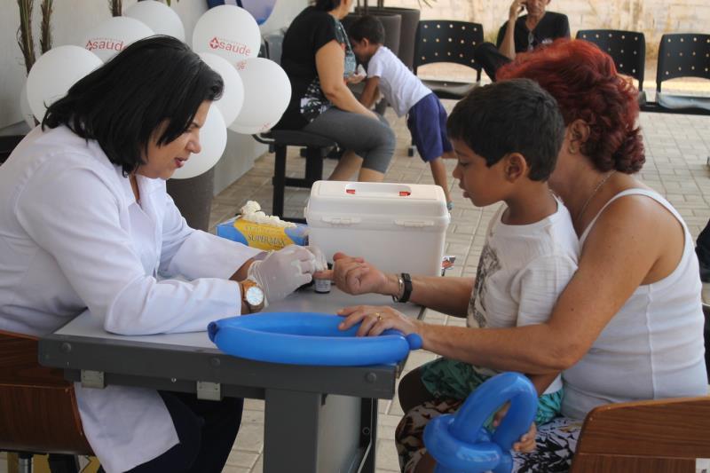 Sábado é marcado por dia de saúde da família, no centro de Palmas