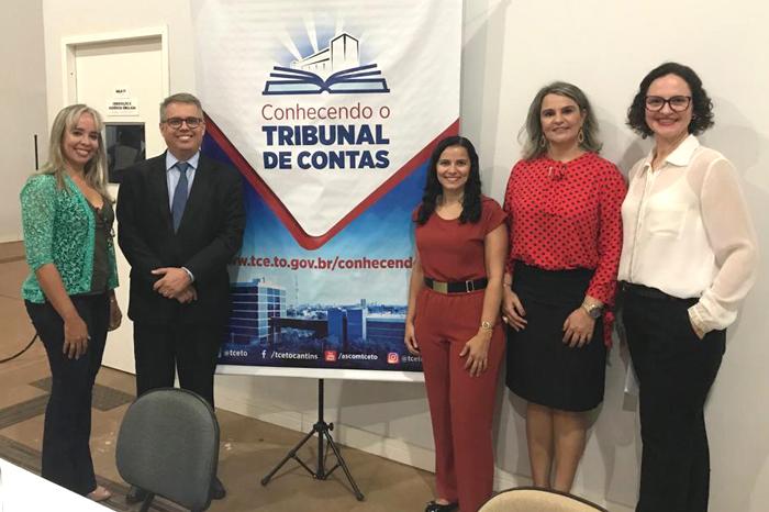 "Faculdade de Paraíso sedia Projeto ""Conhecendo o Tribunal de Contas"""