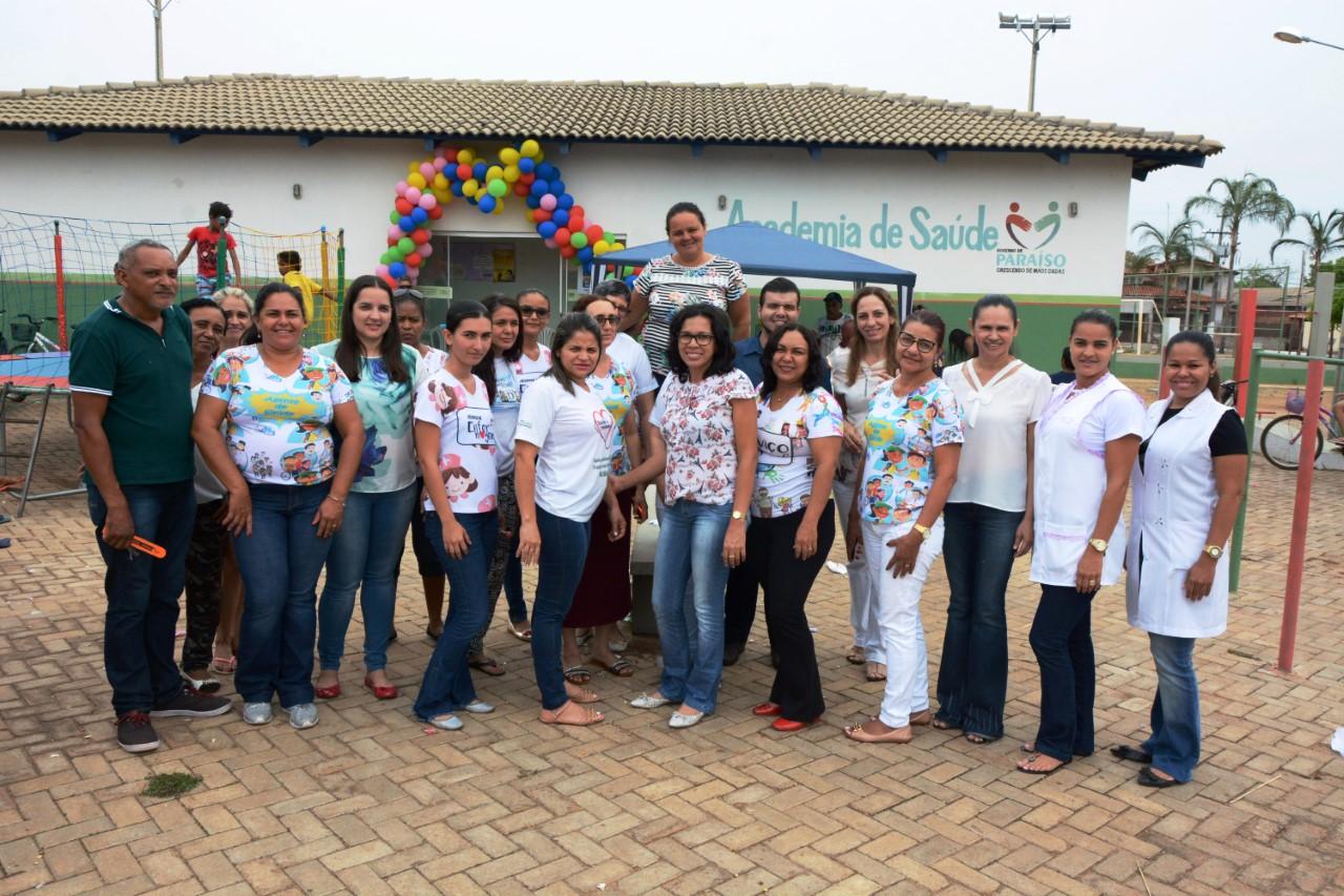 Beneficiários do Bolsa Família participam de ação na Academia de Saúde do Setor Jardim Paulista