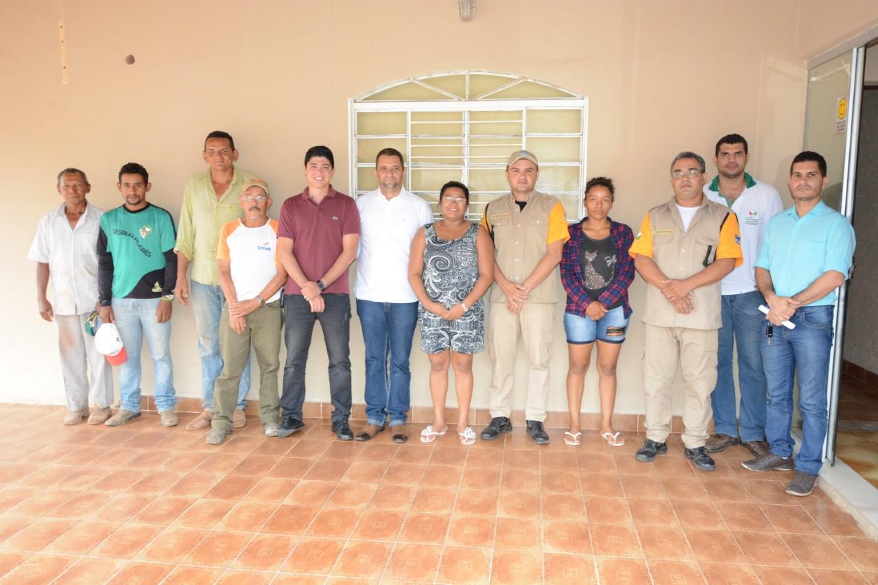 Moisés Avelino e Celso Morais visitaram as novas instalações do Departamento Municipal de Trânsito