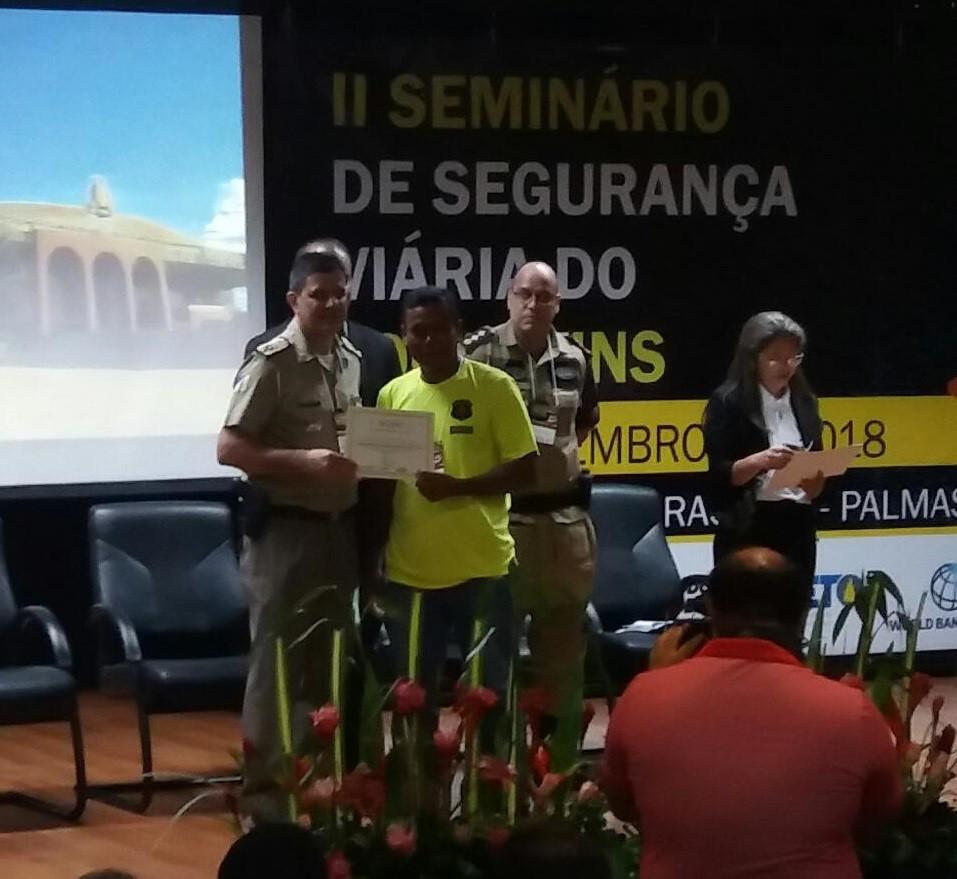 Durante Seminário de Segurança Viária do Tocantins, Sesmu recebe moção de reconhecimento e aplausos pelos serviços prestados por agentes de Trânsito e Transportes na Capital