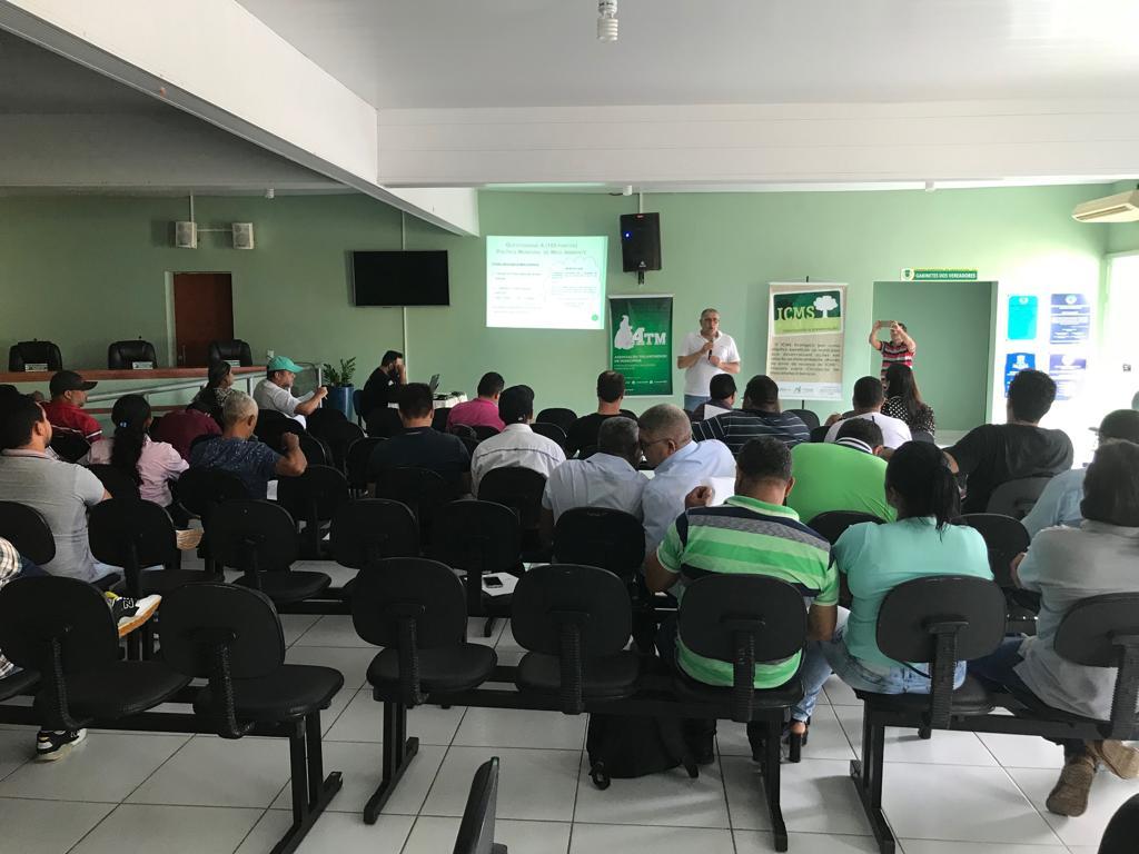 Workshop ICMS Ecológico é realizado com sucesso em Araguatins