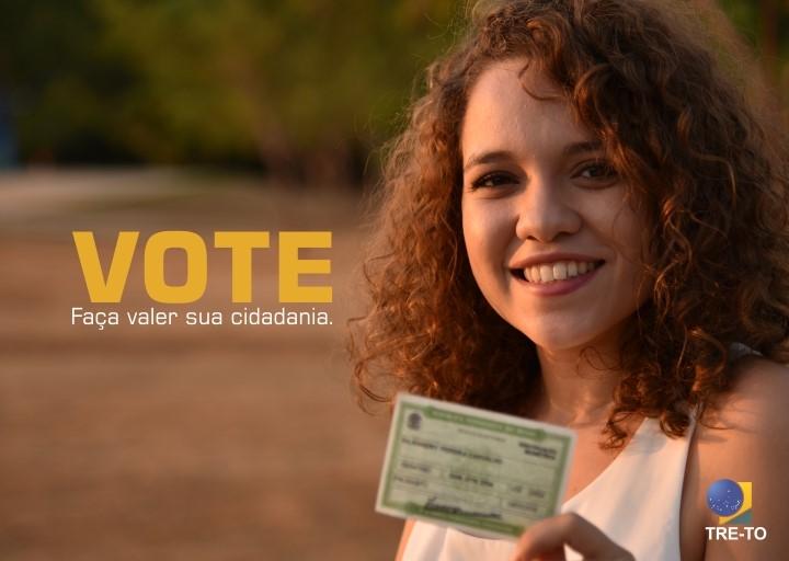 Justiça Eleitoral do Tocantins ressalta a importância do voto em campanha no rádio e na TV