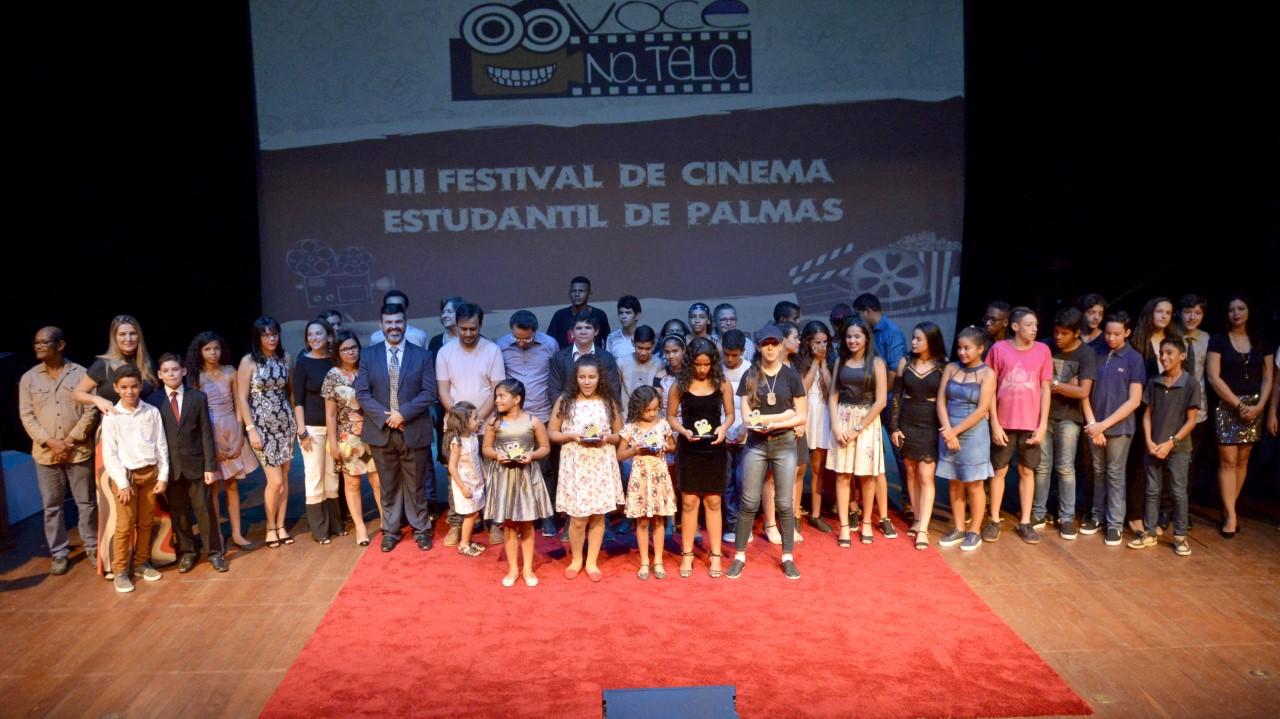 Pequenos e jovens cineastas são premiados no III Festival de Cinema Estudantil Você na Tela