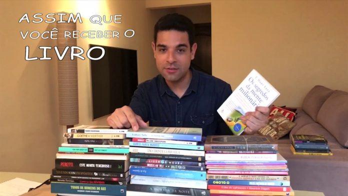 Repórter do Sbt Darlisson Dutra cria campanha na web de doação de livros