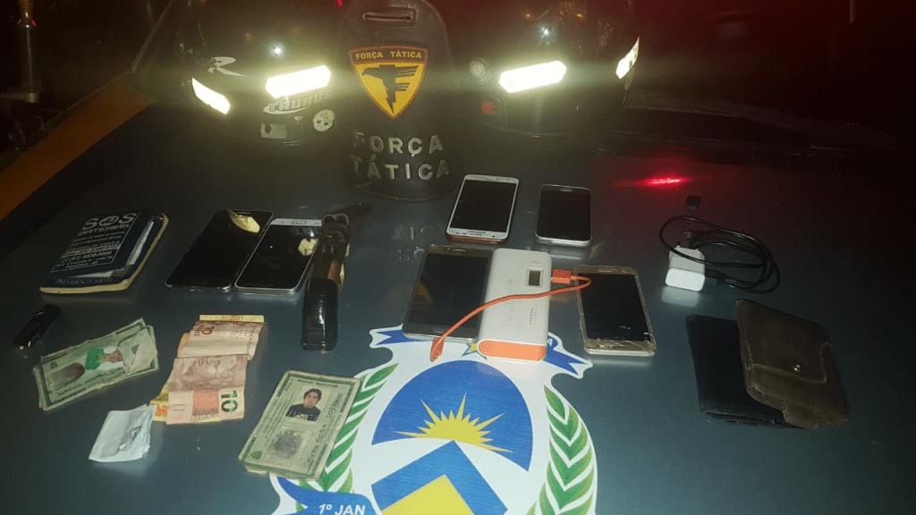 Polícia Militar captura homens por roubo, recupera motos roubada e outros produtos de origem duvidosa em Araguaína