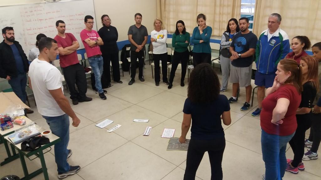 IEE e Petrobras capacitam professores do Ceará e de São Paulo em esporte educacional