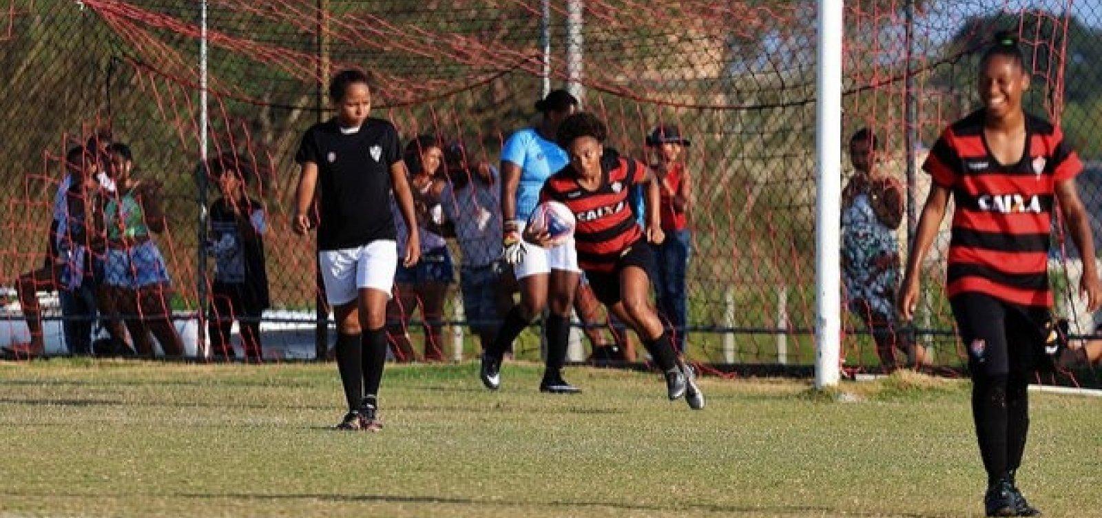 Vitória aplica goleada de 28 a 0 no Baianão Feminino