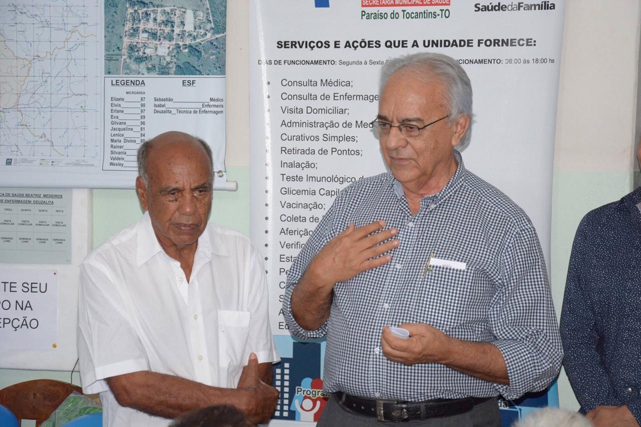 Prefeitura de Paraíso (TO) emite Nota de Pesar pelo falecimento do médico Sebastião Nunes Barros
