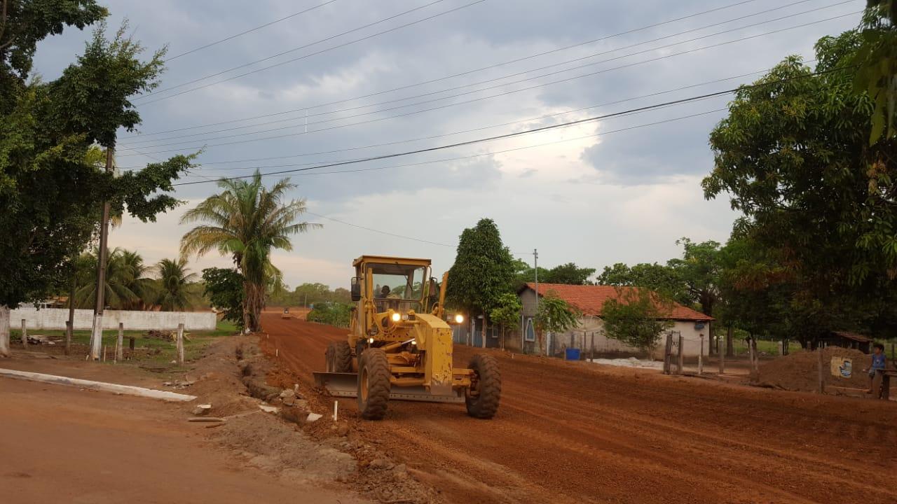 Obra de pavimentação da rodovia entre Paraíso e Chapada de Areia está quase concluída