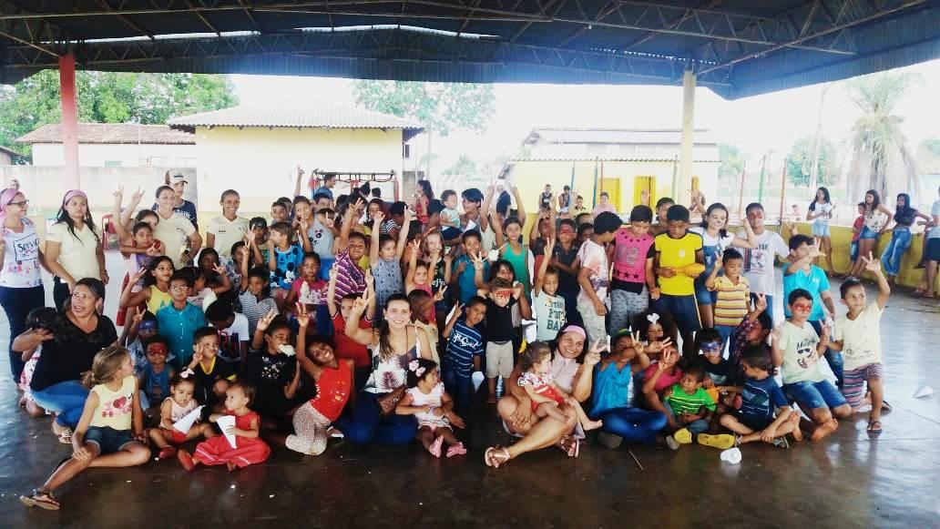 Secretaria de Assistência Social de Barrolândia promove comemoração ao Dia da Criança