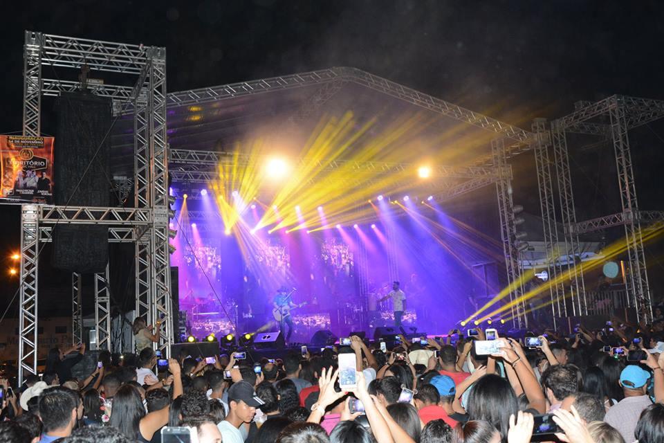 Prefeitura de Paraíso (TO) comemora aniversário do Município com show de Israel e Rodolffo
