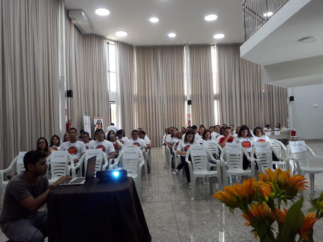 Com apoio da Fesserto e da Força Sindical, Sinsjusto promove debate sobre assédio e reunião de delegados
