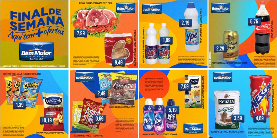 Supermercado Bem Maior prepara dezenas de ofertas para o próximo final de semana em Paraíso (TO)