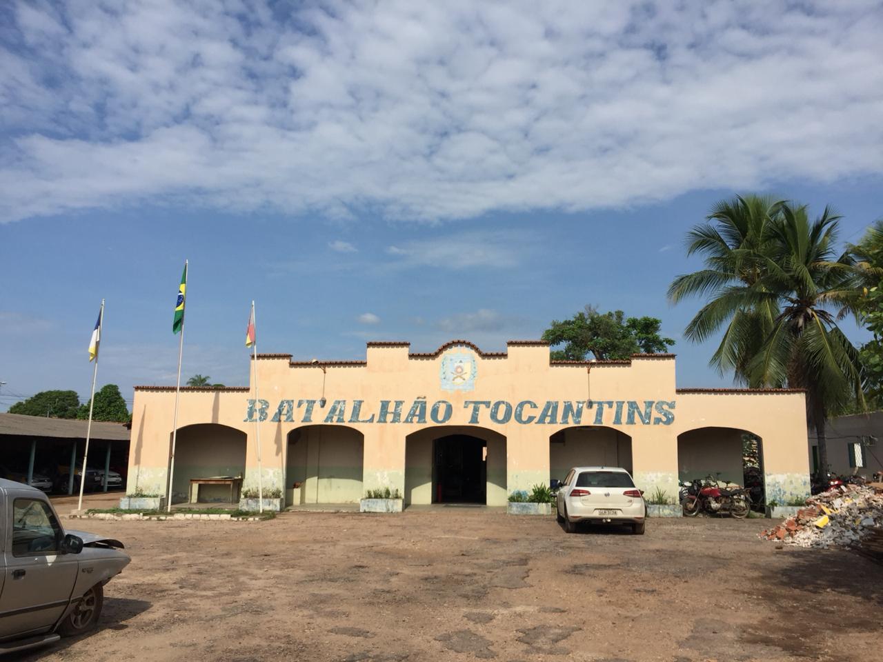 Prefeitura de Pedro Afonso inicia obras de reforma do 3º Batalhão de Polícia Militar