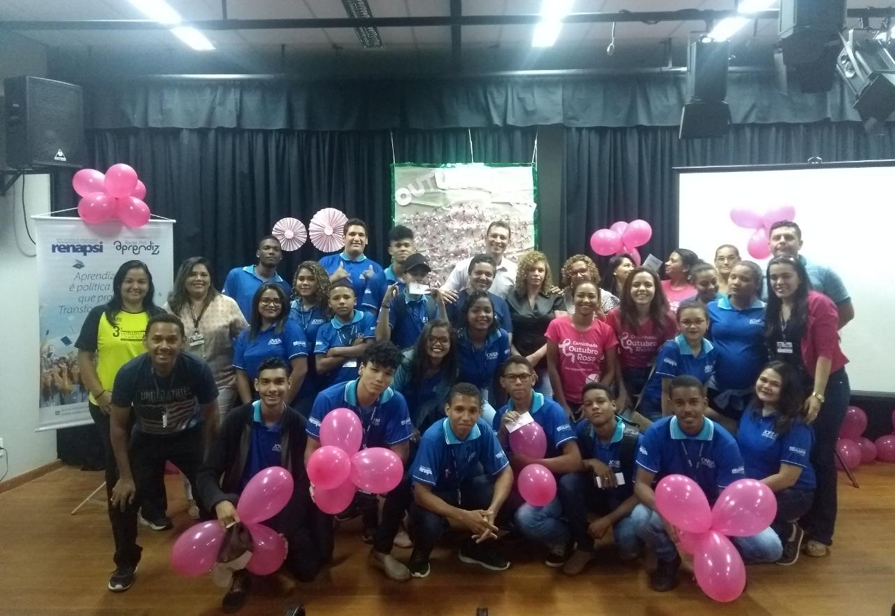 Campanha Outubro Rosa: Cras Morada do Sol reúne jovens empreendedores em bate papo