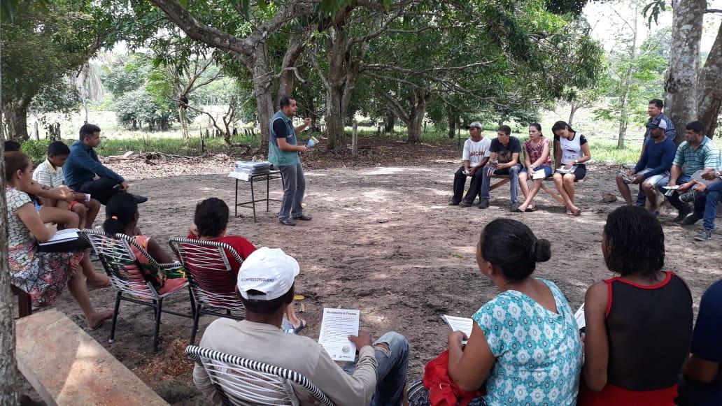 Educação Ambiental é tema de encontro com assentados do município de Pau D´ Arco