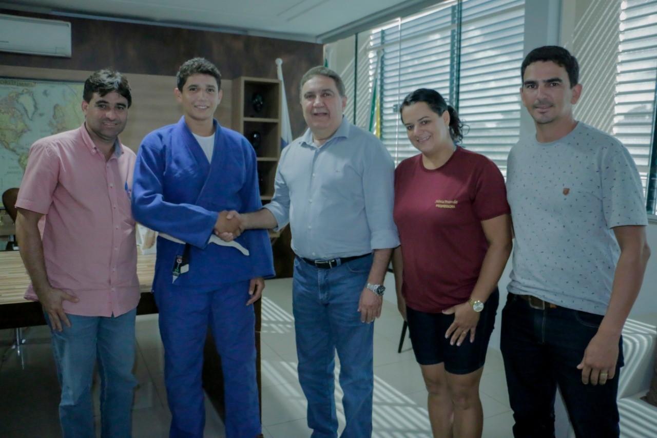Aluno da rede municipal de Gurupi se consagra campeão estadual de judô nos JETS