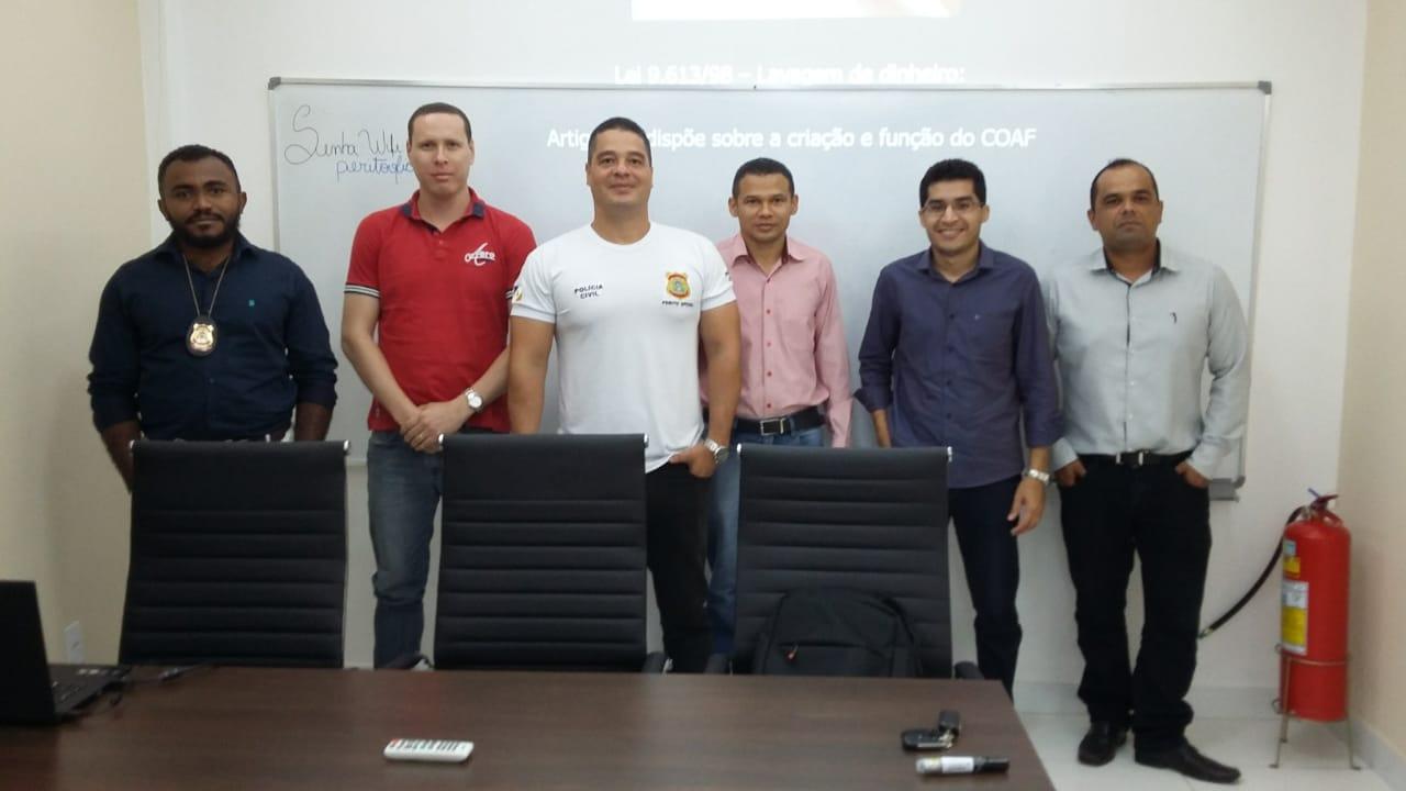 Peritos oficiais do Tocantins participam de cursos de aperfeiçoamento no combate a crimes complexos