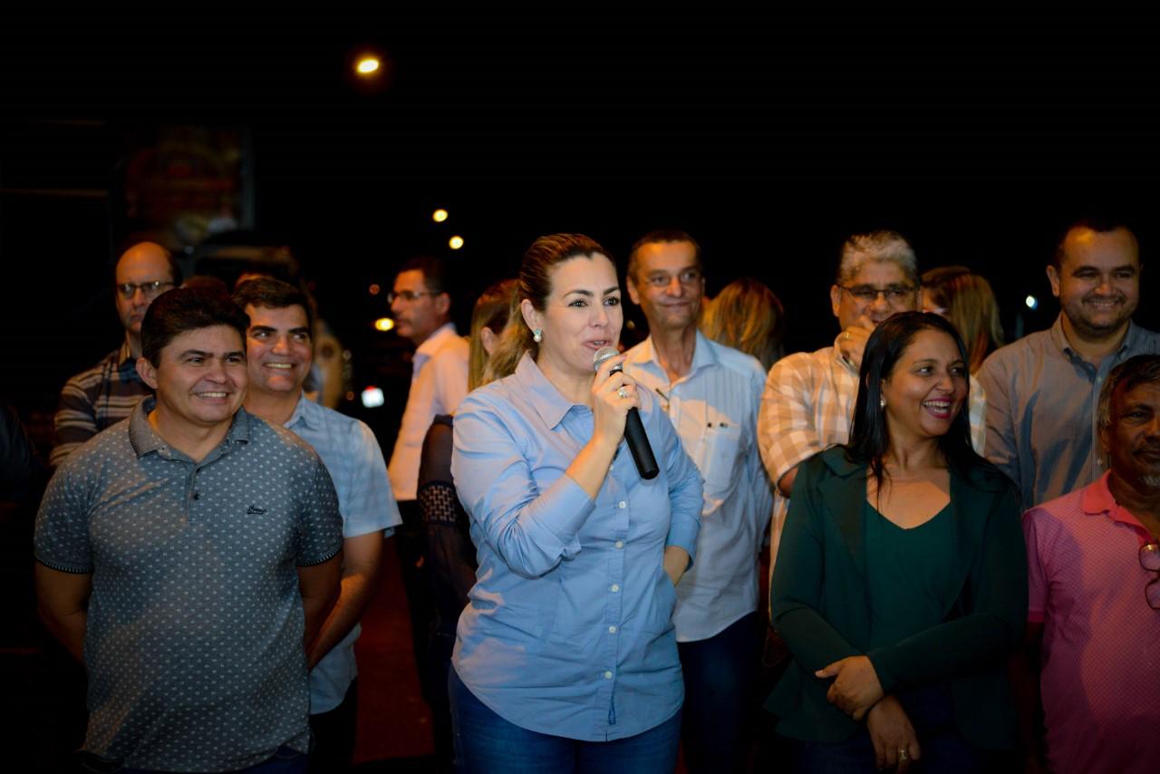 Avenida Ipanema recebe luzes de LED e prefeita assina ordem de serviço para modernização da iluminação da Avenida Tocantins