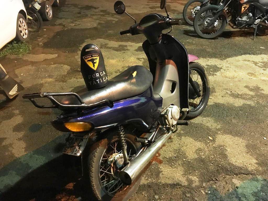 PM apreende adolescente por receptação e recupera moto roubada em Araguaína