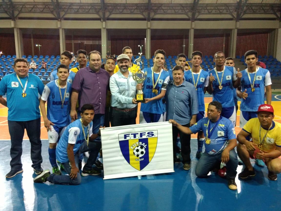 A.E. Arne 64 conquista titulo do Metropolitano Sub-17 2018 de forma invicta