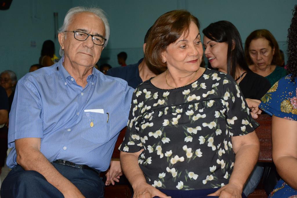 Prefeito Moisés Avelino e dona Virgínia participam de encerramento de curso de gestantes em Paraíso (TO)