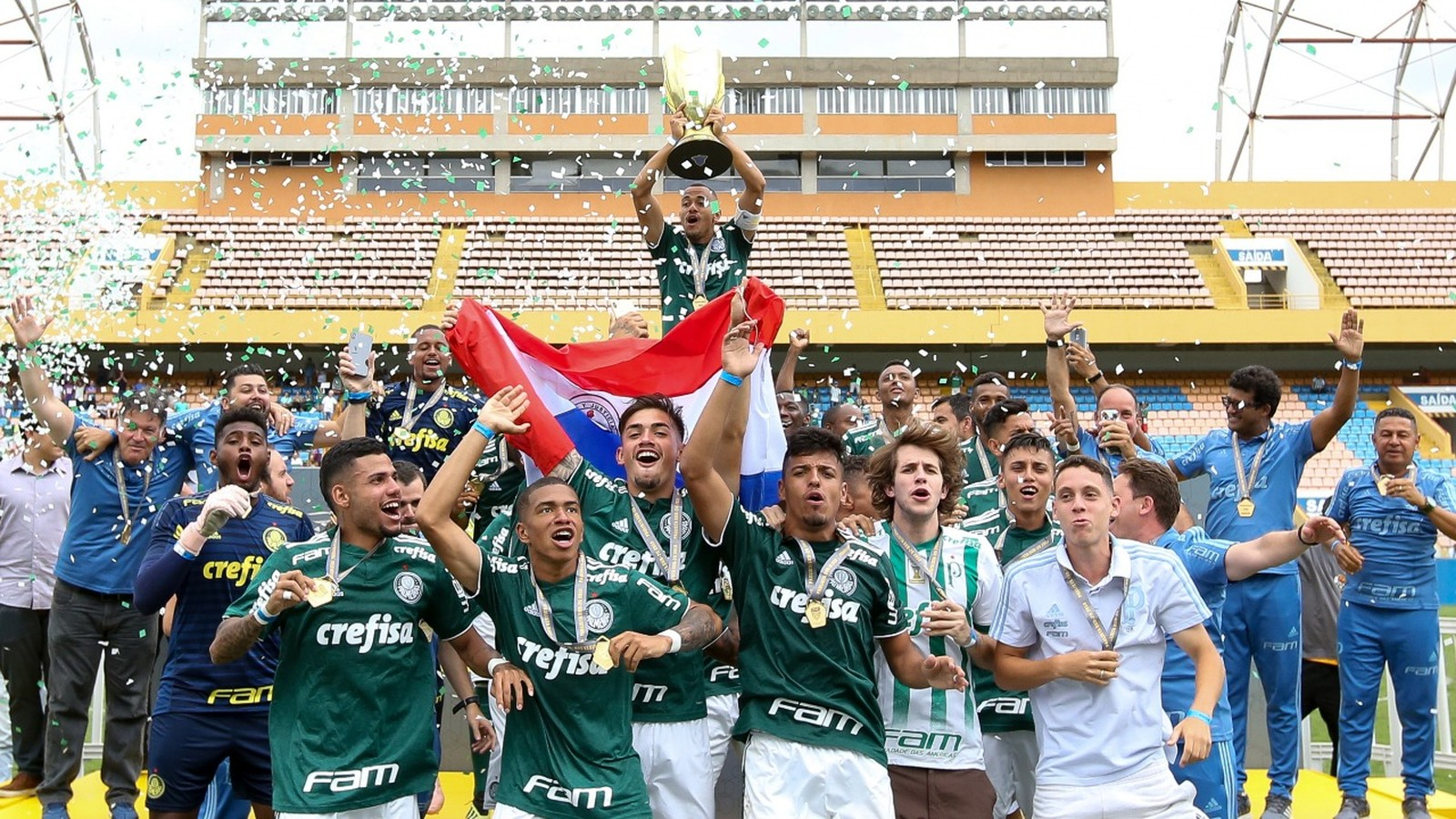 Palmeiras vence o Corinthians em Barueri e é bicampeão paulista sub-20