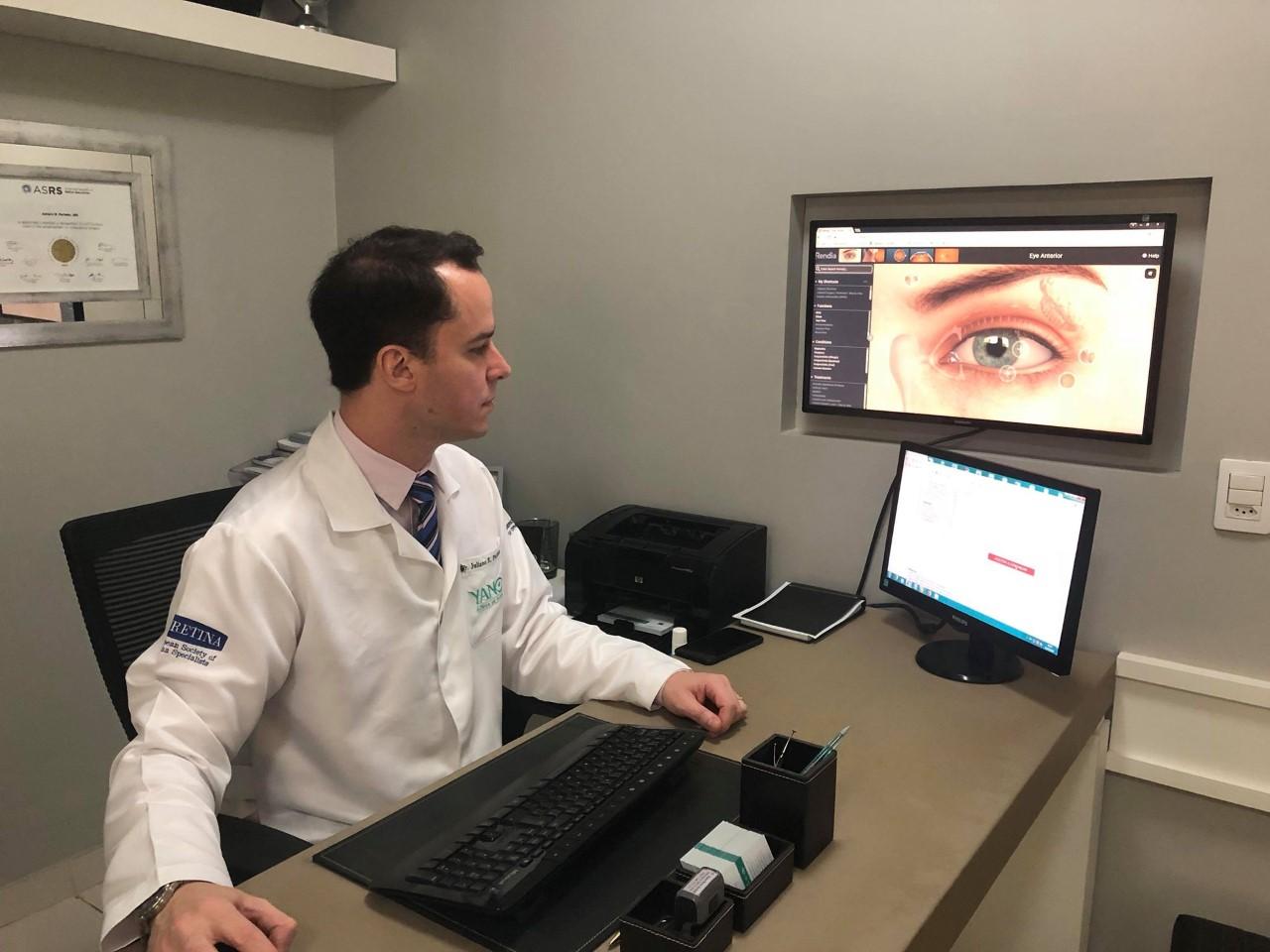 Dia mundial do diabetes: Perda de visão é mais frequente em pacientes diabéticos.