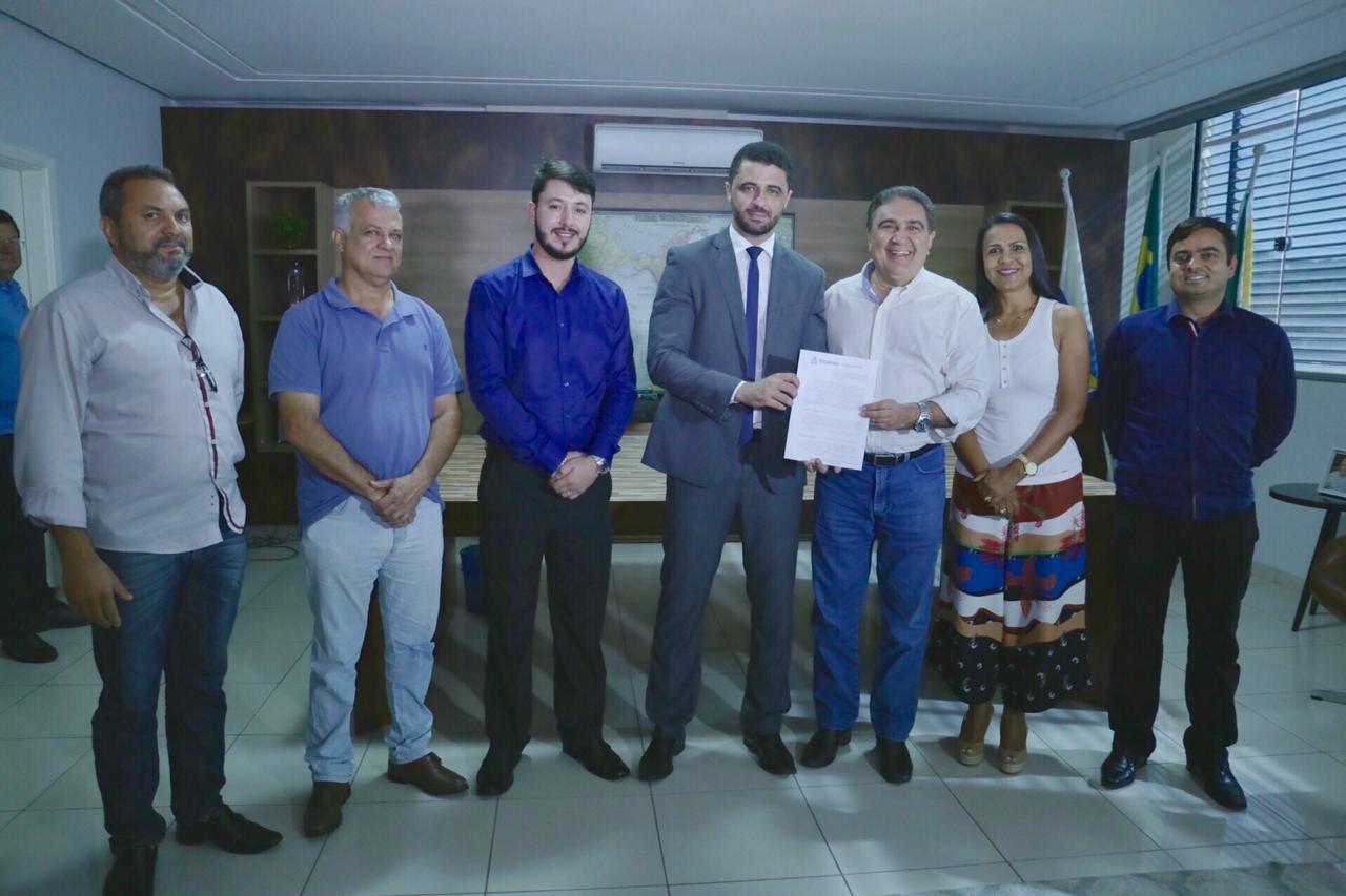 Termo de cooperação técnica entre Prefeitura de Gurupi e Seciju beneficia reeducandos com contratação de mão de obra prisional